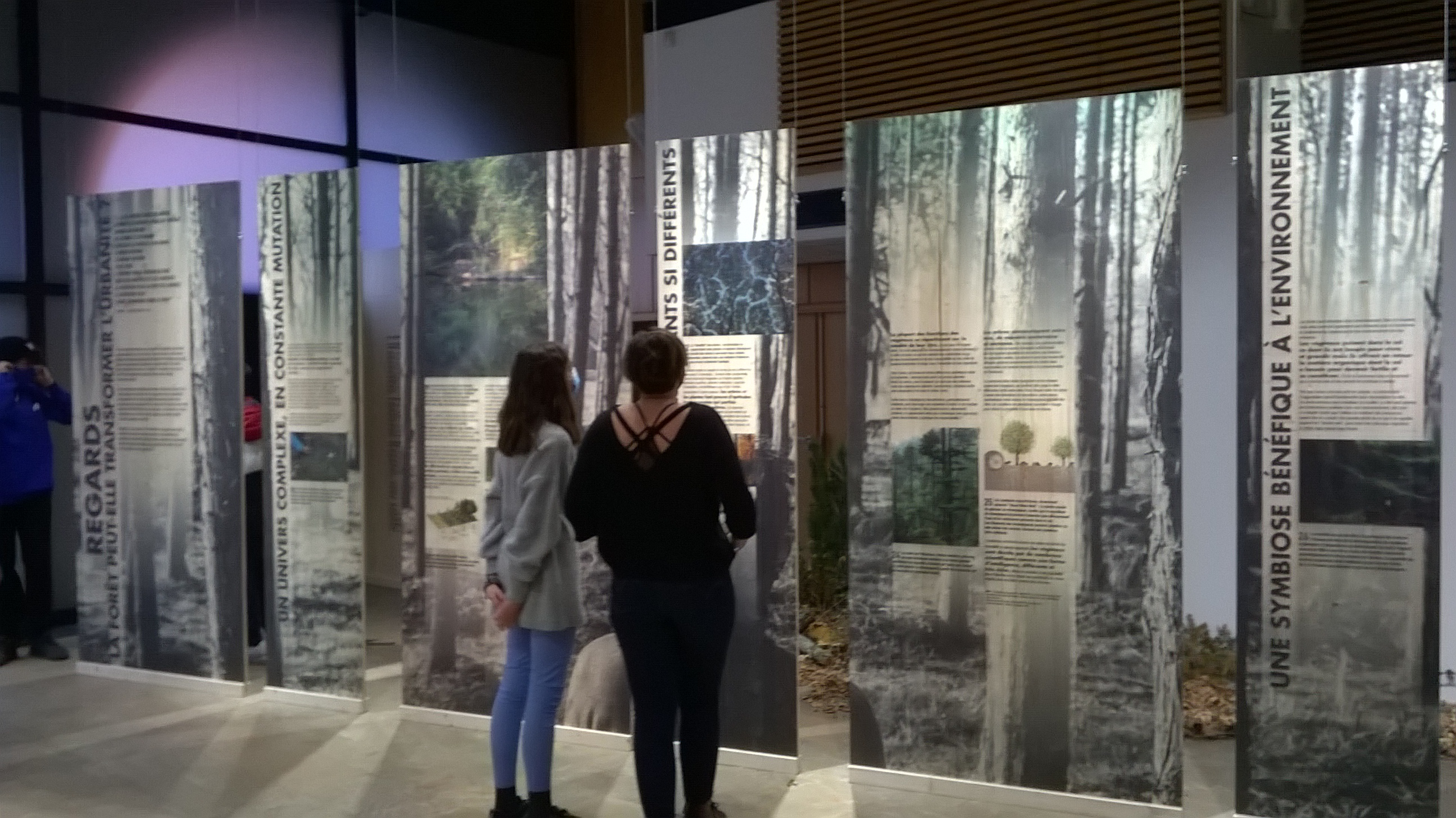La classe de 2nde GT option Sciences et Nature en sortie au CAUE de Lyon
