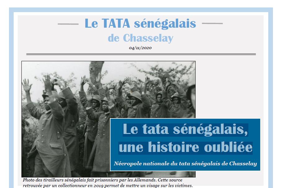 Le tata sénégalais, une histoire oubliée