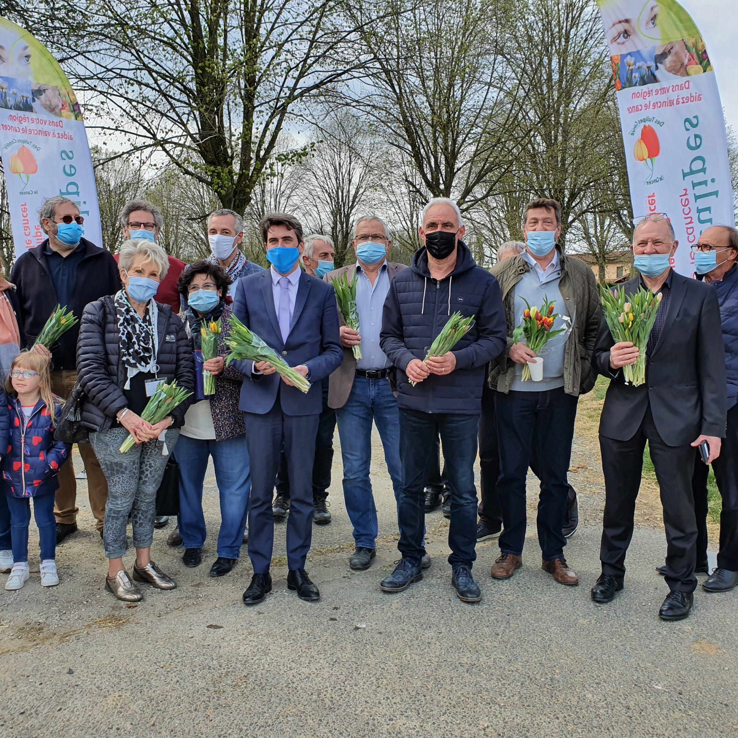 """Opération """"Tulipes contre le cancer"""""""